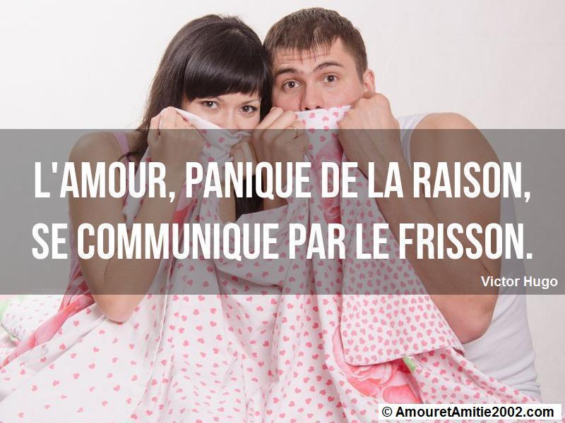 l'amour panique de la raison