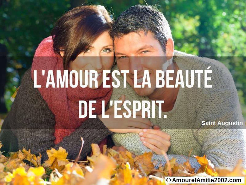 l'amour est la beauté de l'esprit