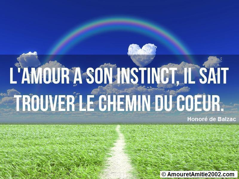 l'amour a son instinct