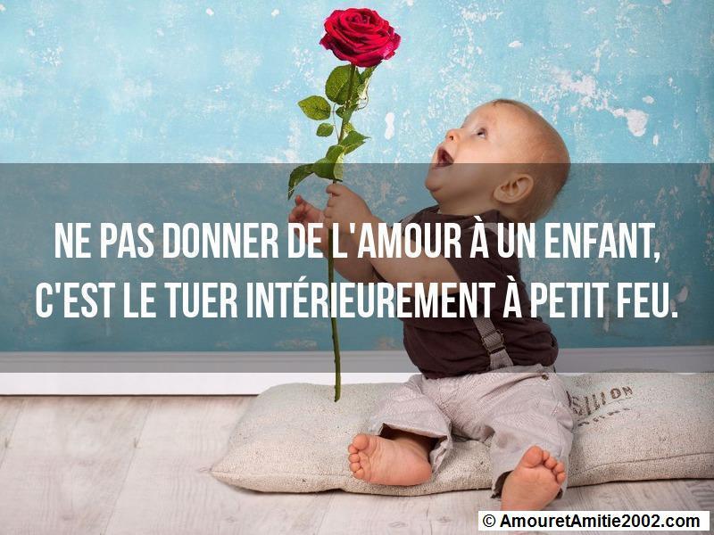 Citation Amour Ne Pas Donner De Lamour à Un Enfant