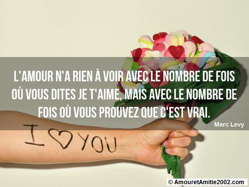 l'amour n'a rien à voir avec le nombre de fois où vous dites je t'aime