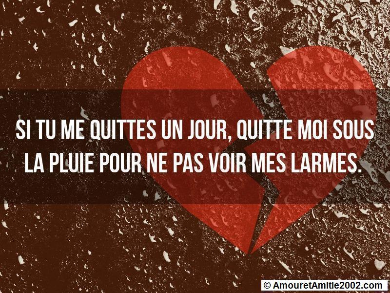 Citation Amour Si Tu Me Quittes Un Jour