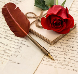 Lettres Damour De Passion De Tendresse