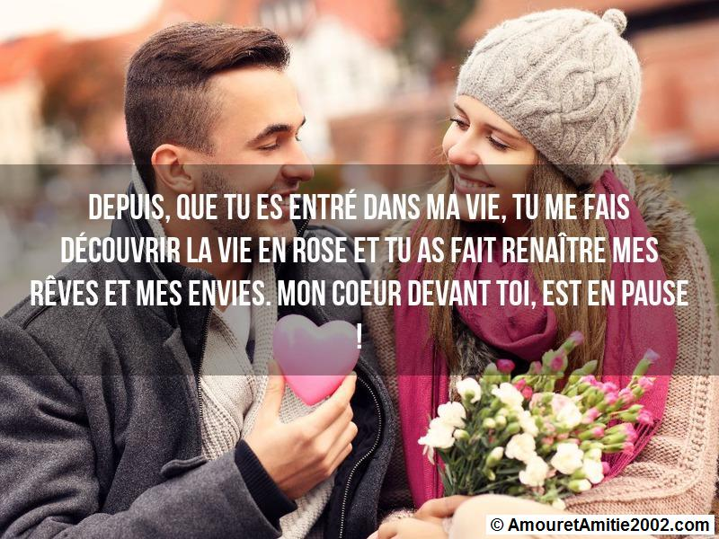 message amour 102