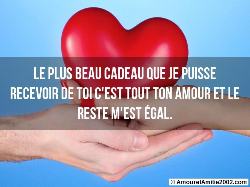 message amour 109
