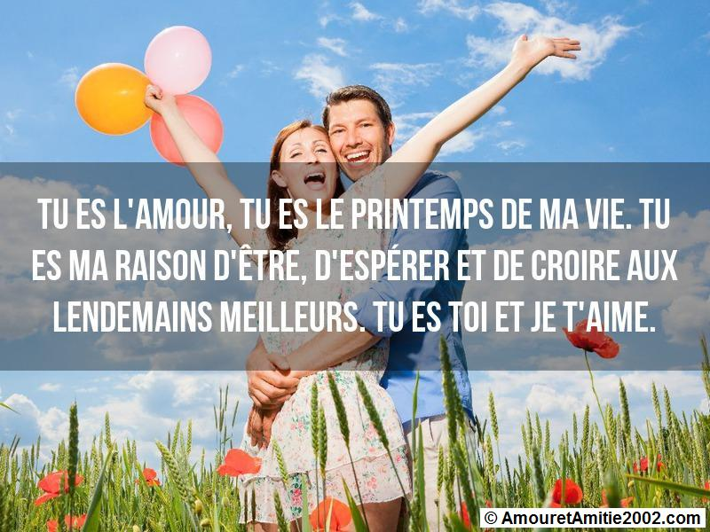 message amour 111