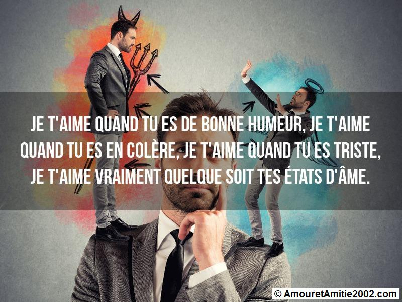 message amour 121