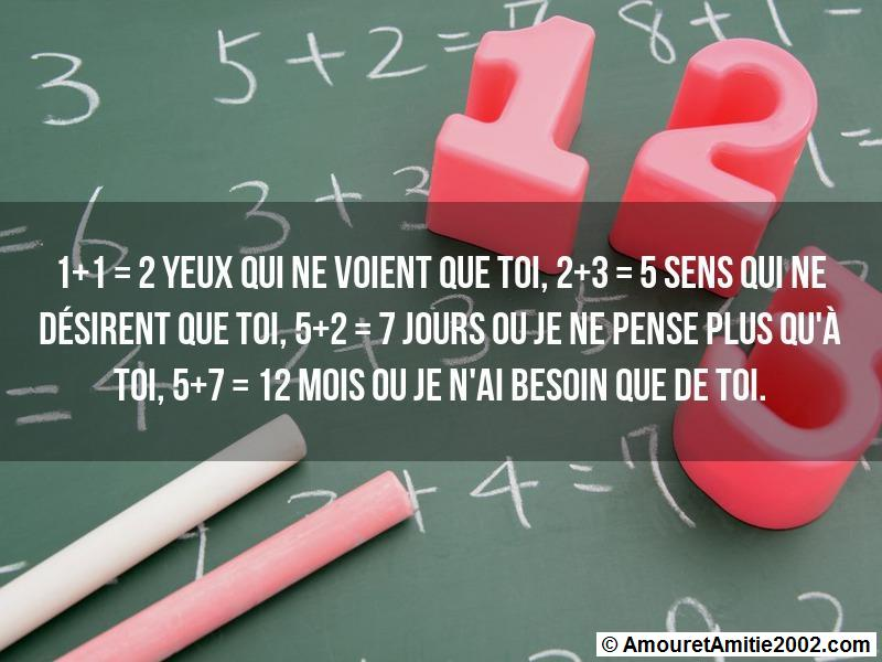 message amour 124