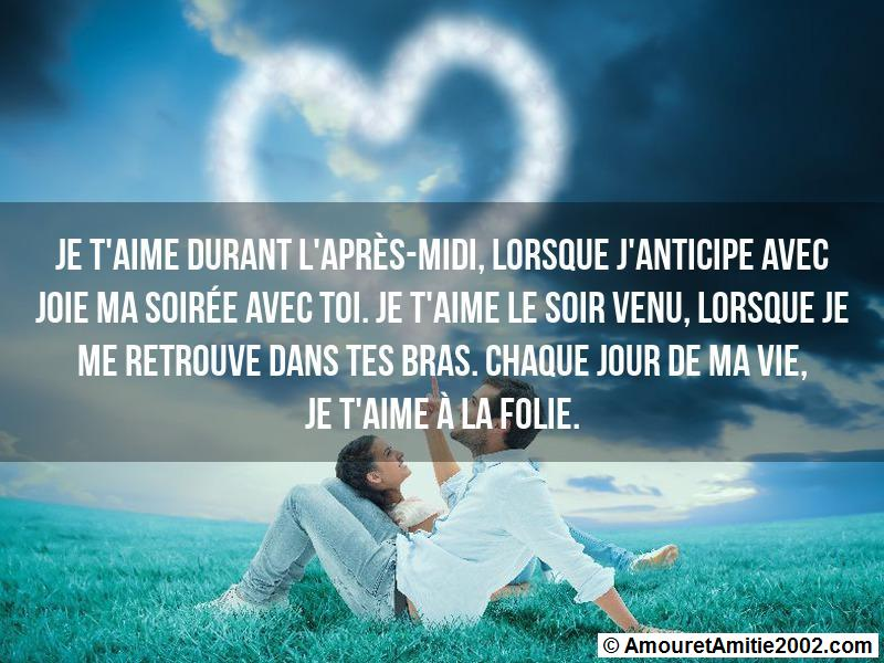 message amour 126