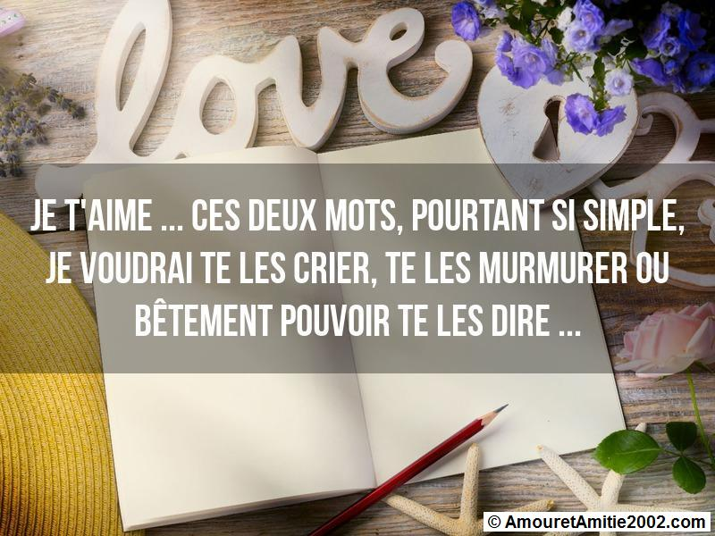 message amour 130