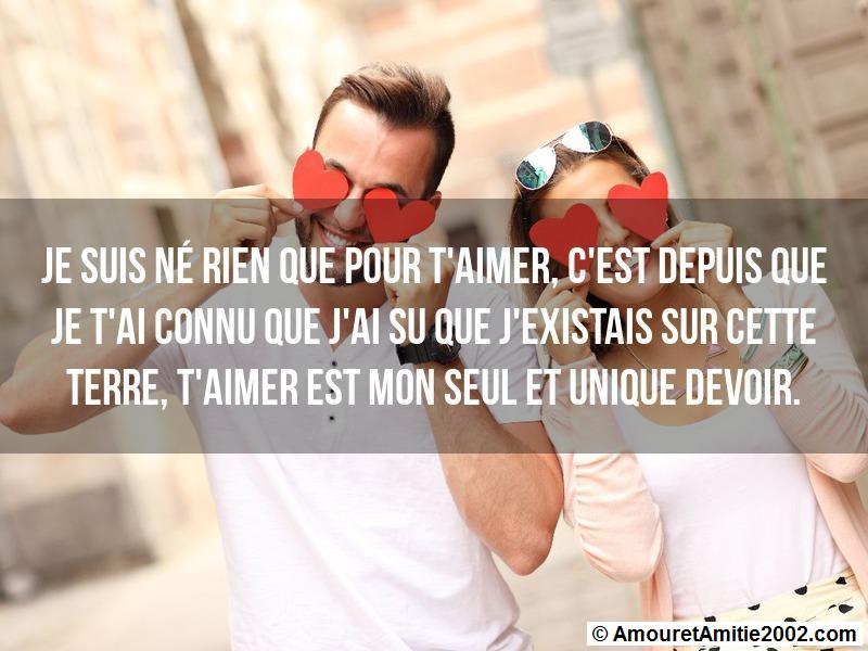 message amour 135