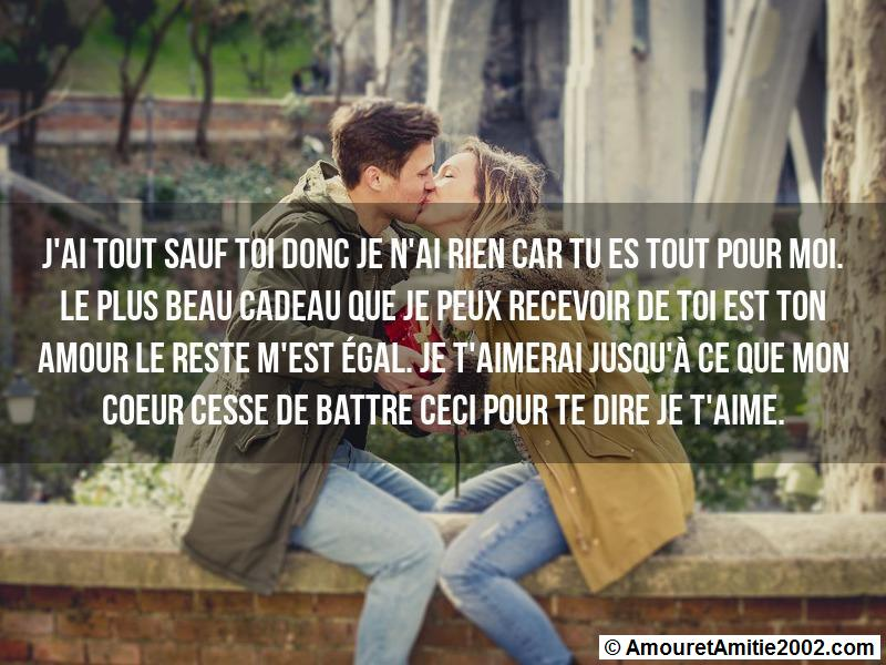 message amour 149