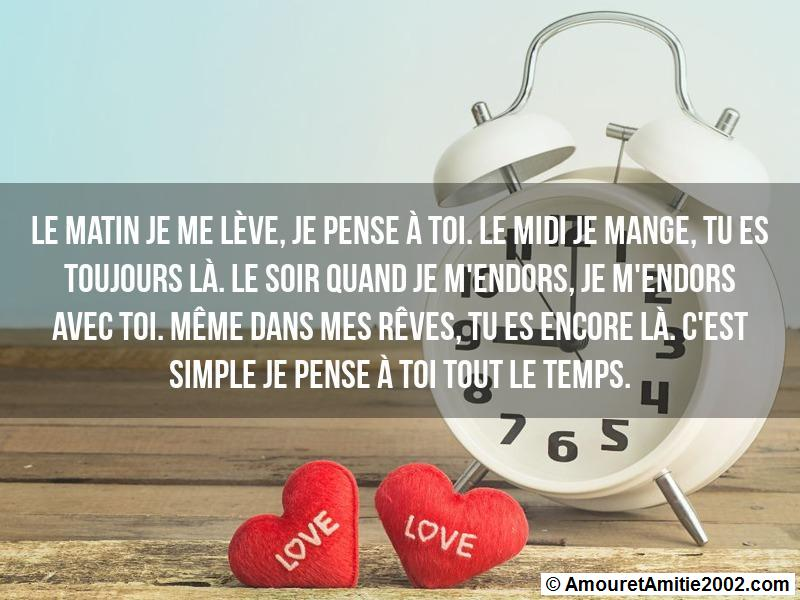 message amour 151