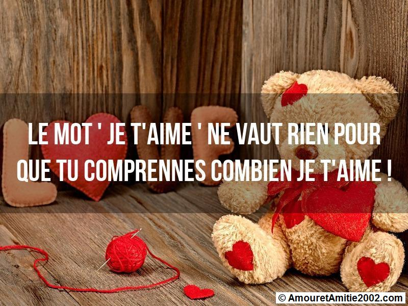 message amour 153
