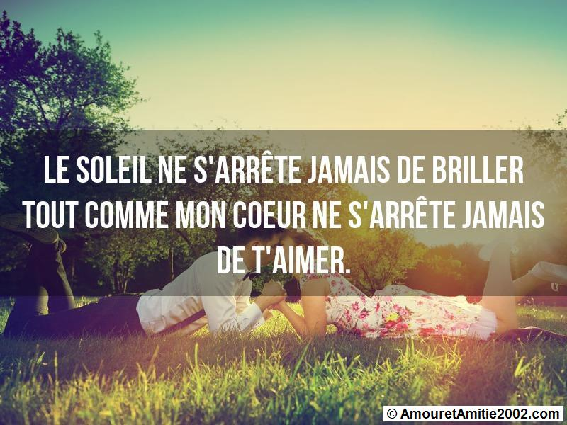 message amour 154