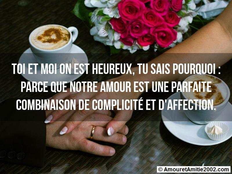 message amour 155