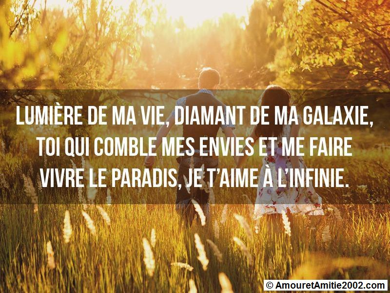 message amour 157