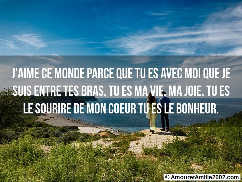 message amour 158