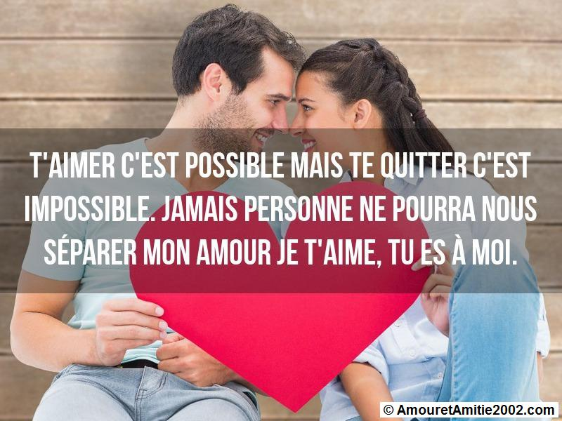 message amour 160