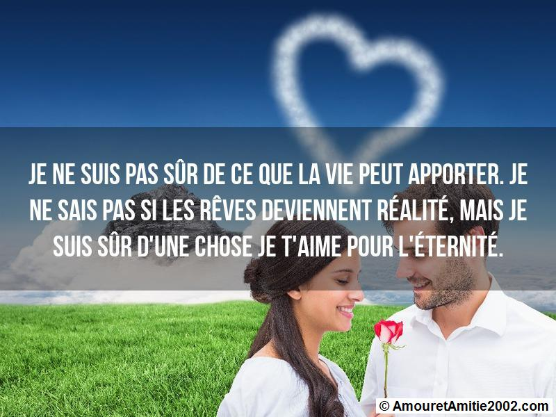 message amour 162