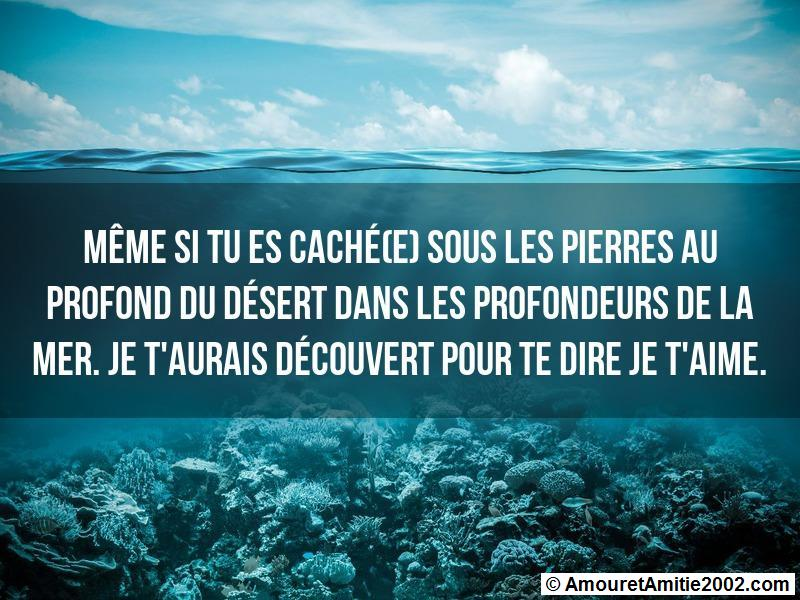 message amour 163