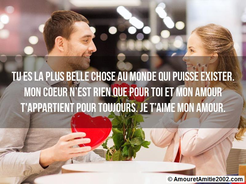 message amour 165