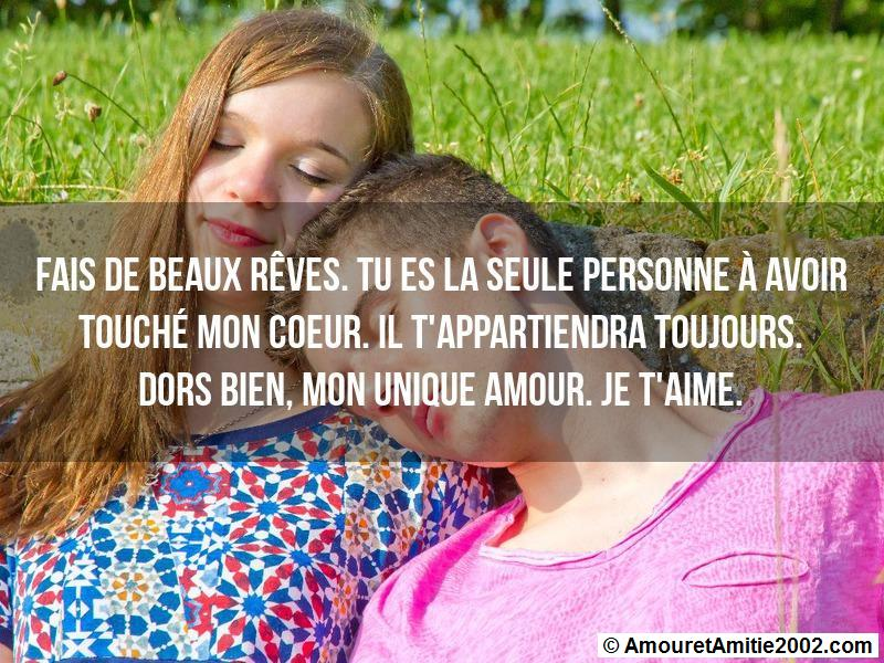 message amour 168