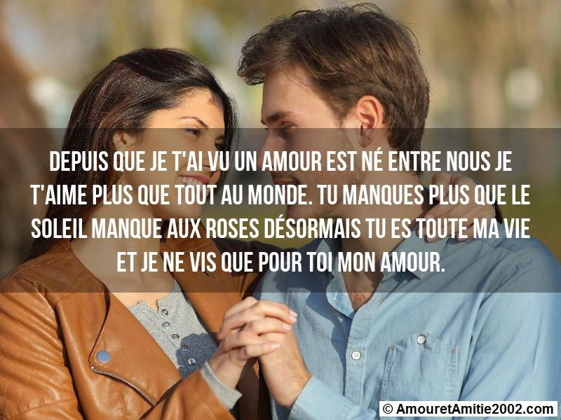 message amour 176