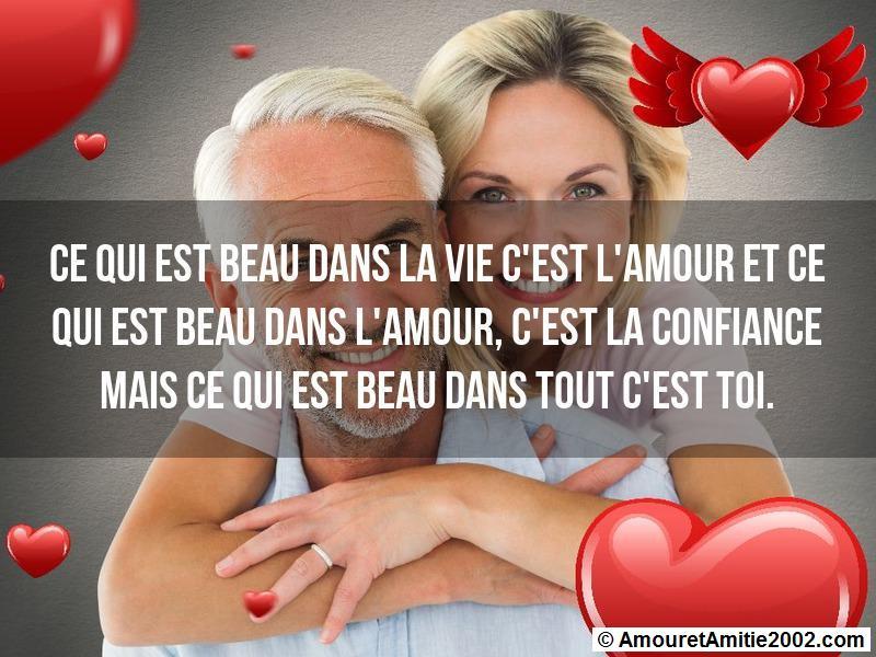 ce qui est beau dans la vie c'est l'amour