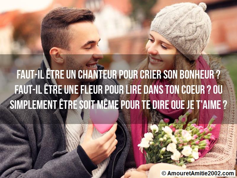 message amour 77
