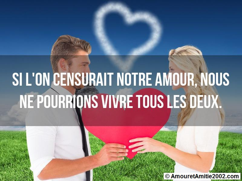message amour 91