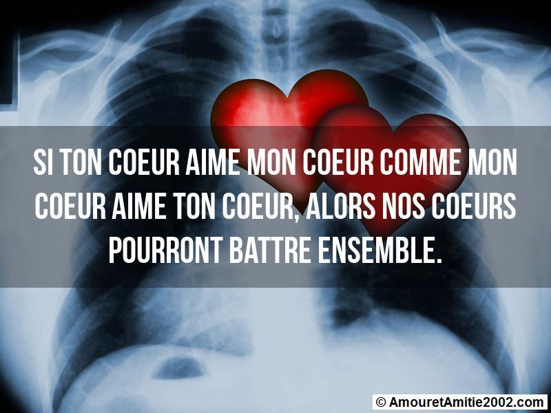 si ton coeur aime mon coeur