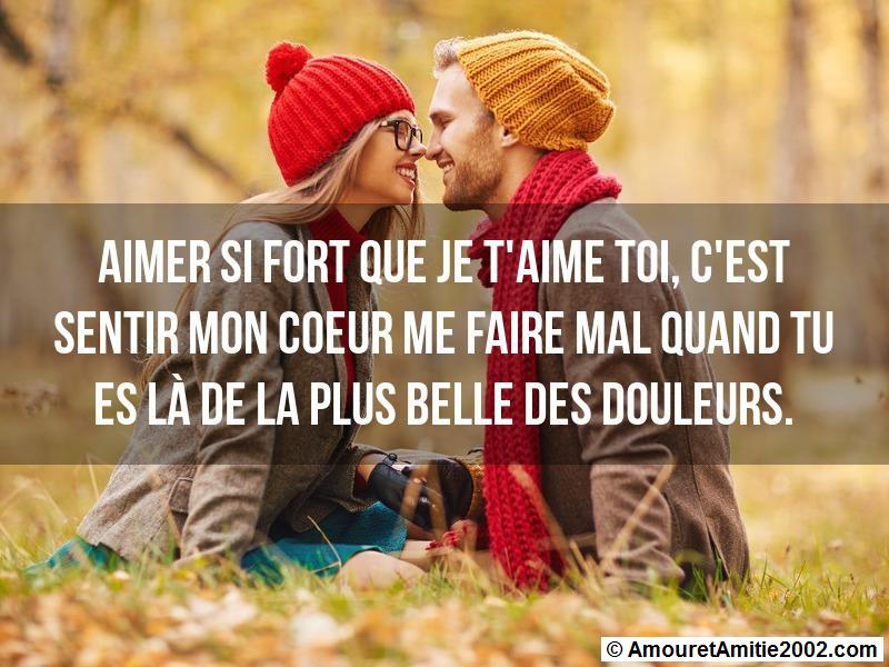 aimer si fort que je t'aime toi