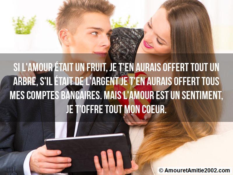 si l'amour était un fruit