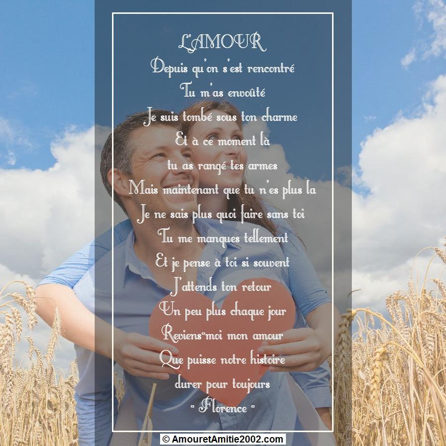 Poeme pour rencontre inoubliable
