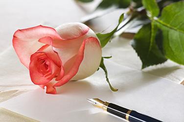 Écrivez-lui un joli poème d'amour avec son prénom