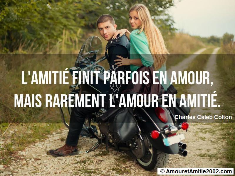 Proverbe Amour L Amitie Finit Parfois En Amour
