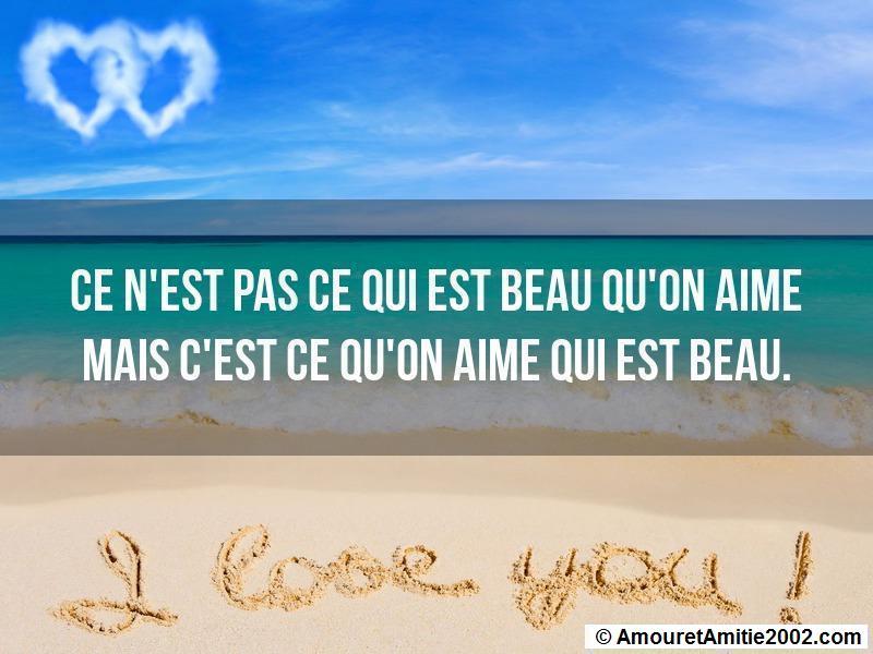 Proverbe Amour Ce N Est Pas Ce Qui Est Beau Qu On Aime