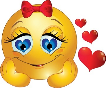 """Résultat de recherche d'images pour """"smiley amour"""""""