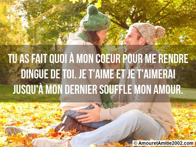 sms d'amour 114