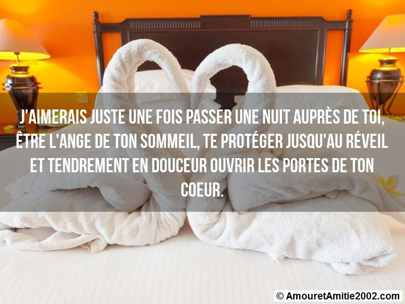 Sms Amour Jaimerais Juste Une Fois Passer Une Nuit Auprès