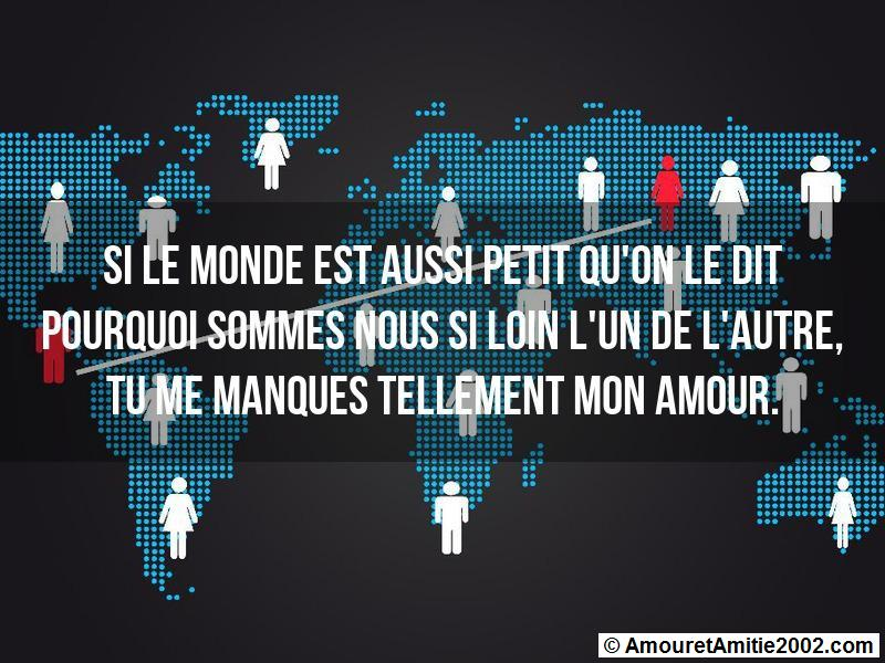 Sms Amour Si Le Monde Est Aussi Petit Quon Le Dit