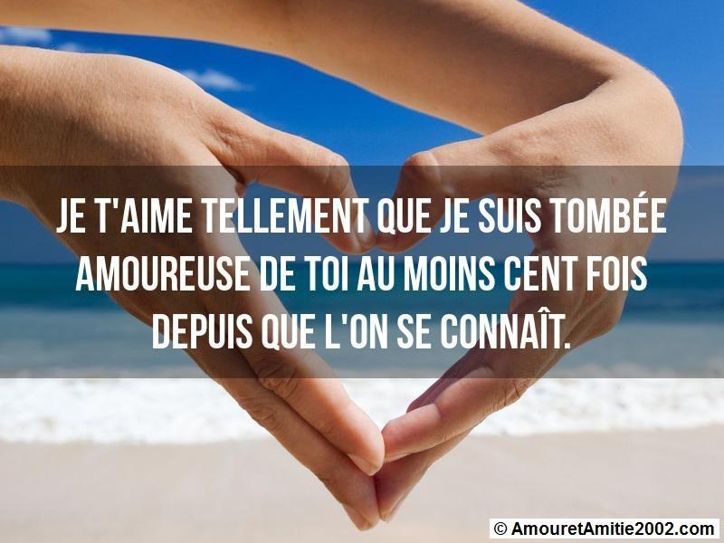 Sms Amour Je Taime Tellement