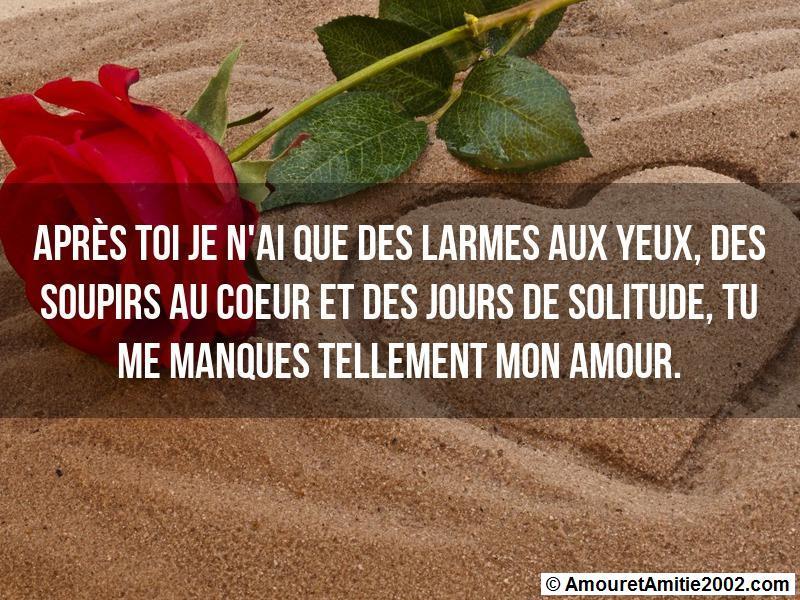Sms Amour Après Toi Je Nai Que Des Larmes Aux Yeux